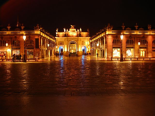 Nancy Place Stanislas de nuit