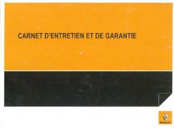 carnet d'entretien voiture renault